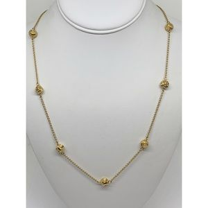 Kate Spade Gold Ball Station Necklace